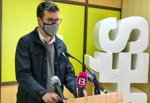 El coordinador de Més, Antoni Noguera.