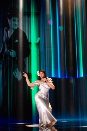 La cantante Nathy Peluso en la gala de la 35 edición de los Premios Goya.