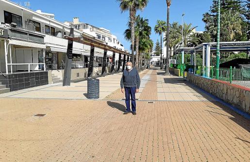 El regidor de Turisme, Colau Bordal, destacó la importancia de la modernización del paseo.