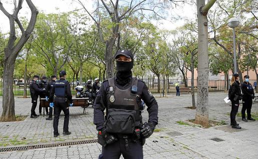 El arresto del sospechoso se produjo el pasado viernes en un piso franco en Son Gotleu.
