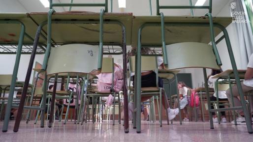 La semana pasada se detectaron 39 casos de COVID-19 entre alumnos de Baleares y ningún contagio de profesores, lo que representa el menor nivel de incidencia de la pandemia en las aulas desde el inicio del curso.