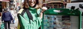 Mireia Mendoza reparte en Palma más de nueve millones de euros con el Cuponazo de la ONCE