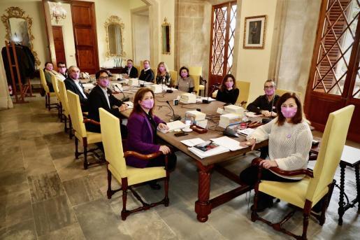 Reunión del Consell de Govern de este lunes.