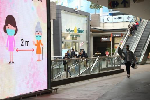 Imagen de archivo del centro comercial FAN, en Palma.