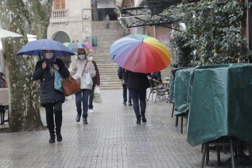 Se esperan lluvias hasta el miércoles.