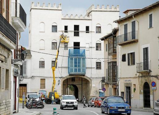La fachada de las Torres del Temple respetará la imagen que reflejó el Arxiduc Lluis Salvador.