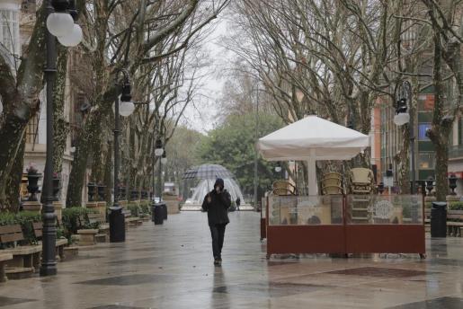 En las últimas 12 horas, se han producido algunas precipitaciones en la isla de Mallorca, que han dejado hasta 14 litros por metro cuadrado.