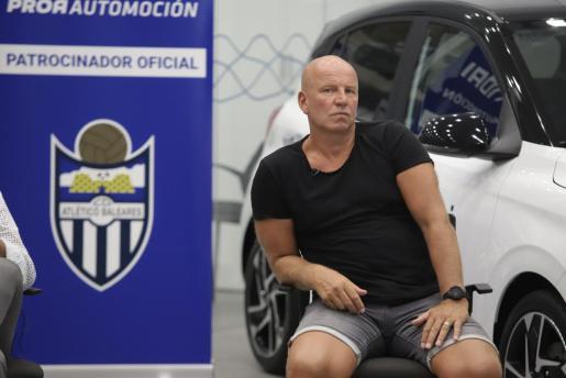 Ingo Volckmann, propietario del Atlético Baleares, en una imagen de archivo.
