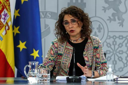 La portavoz del Gobierno, María Jesús Montero.