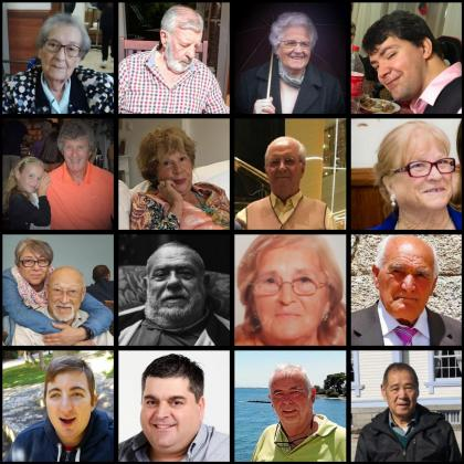 Fotos de las víctimas de las que 'Ultima Hora' ha contado su historia y con las que también ha pretendido rendir homenaje a todas las demás y a sus familias