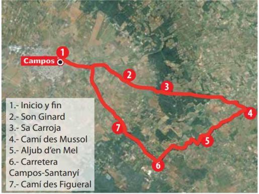 Por los caminos de Es Mussol y Ses Angoixes, entre Campos, Felanitx y Santanyí