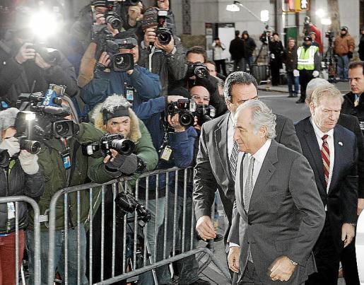 Bernard Madoff ingresó en prisión tras declararse culpable de estafa.