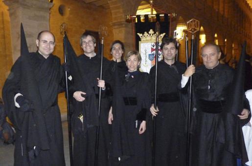 Felio Bauzá. Toni Canals, Marina López-Jurado, Laura Bauzá, Juan Buades y Carlos Miralles.