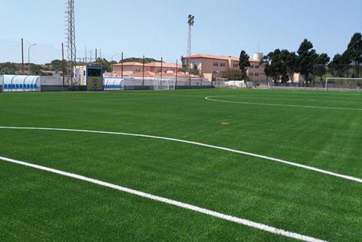 Imagen de un campo de fútbol palmesano.