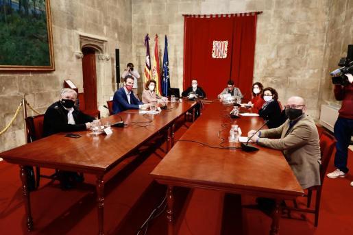 Este jueves se ha reunido la Mesa de Diálogo Social.