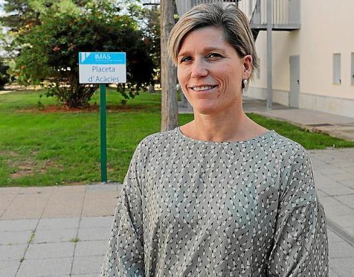 La directora insular de Gent Gran, Sofía Alonso.