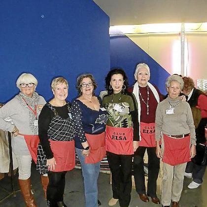 Bárbara Lüllemann, Pilar Espinosa, Matilde Cañellas, Elena Ruano, Carmen Huerta y Chiqui Aldecoa.