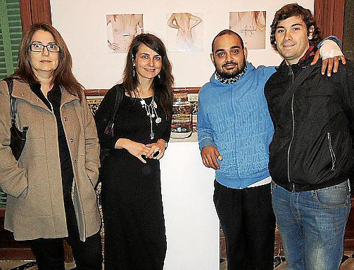 Encarna Domingo, Cati Oliver, Thauik Awsul y Luis Francucci.