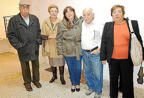 Juan Manera, María Celsa Talavera, María Dávila, Joan Cunill y Paquita Romero.