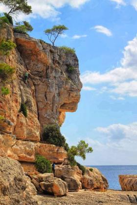 Esta es la imagen que este aficionado a la fotografía capturó en Cala Santanyí, cerca del popular es Pontàs.