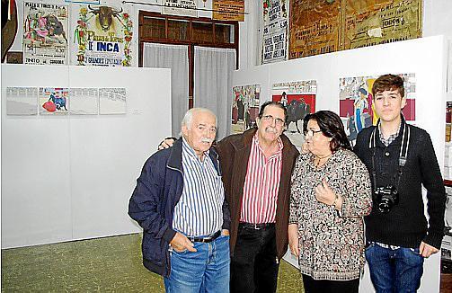 Joan Cunill, Tolo Albertí, Maria A. Bibiloni y Fran Lorente.