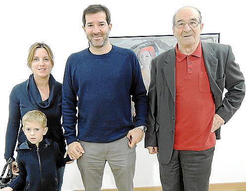 Magdalena Juan, Xavier Camacho, Alexandre Camacho y Francisco Camacho.
