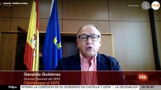 El director general del SEPE, Gerardo Gutiérrez.