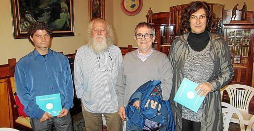 Miquel Aguilar, Antoni Caimari, Antoni Gost y Margalida Rubert.