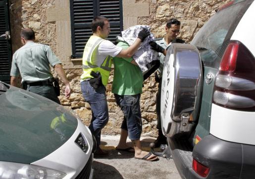 Uno de los detenidos en la 'operación Hundido' en 2011.