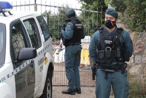 La Guardia Civil llevó a cabo la detención de la mujer.