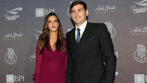Íker Casillas y Sara Carbonero días después de contraer matrimonio.