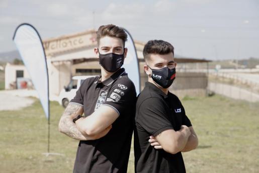 Augusto Fernández y Miquel Pons en las instalaciones de Mallorca Balloons. Ambos comparten entrenador en la figura de Marc Horrach y se entrenan juntos en Mallorca.