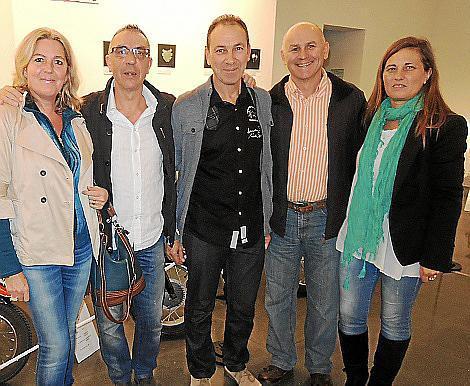 Rosa Maria Fiol, Toni Serra, Toni Amer, Joan Gost y Francisca Alemany.