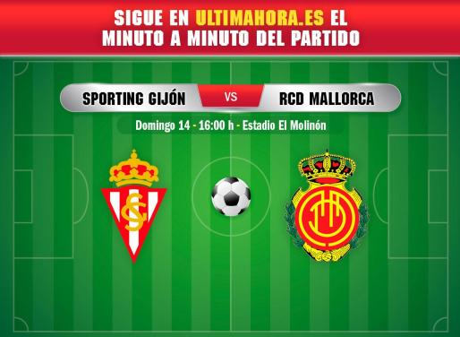 El Real Mallorca visita este domingo El Molinón para enfrentarse al Sporting.