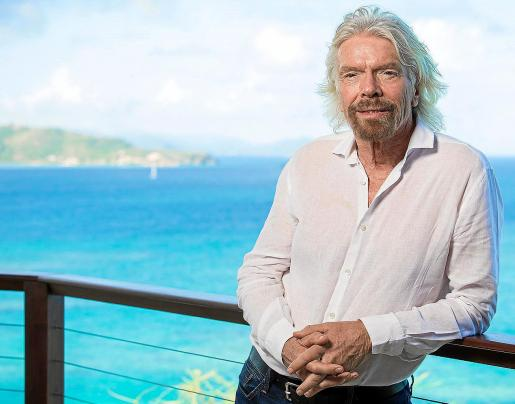 Richard Branson en su Isla de Neckar, en el Caribe. El magnatre ha fijado su residencia en las Islas Vírgenes Británicas, desde donde respondió a las preguntas de 'Ultima Hora' sobre sus proyectos y relación con Mallorca.