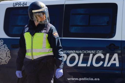 Efectivos de la Policía Nacional.