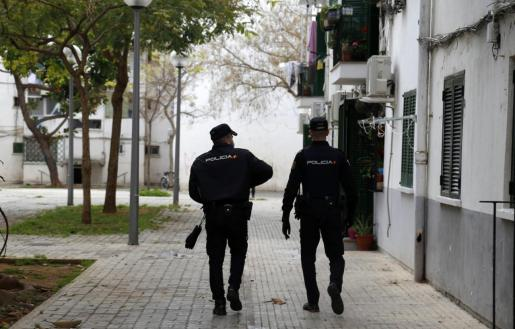 El arresto del encargado fue practicado por agentes de la Policía Nacional.