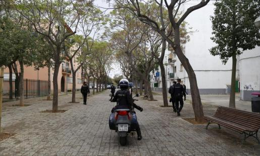 El arresto se produjo en la barriada de Son Gotleu el pasado jueves.