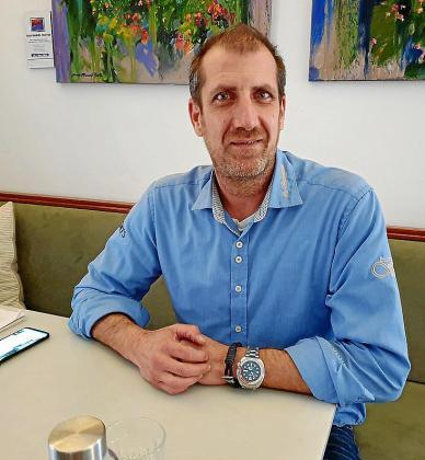 Alberto Jareño, portavoz de la víctima de las torturas.