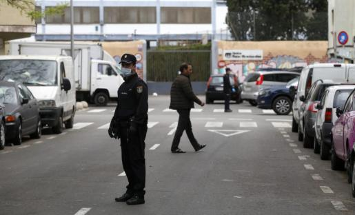 El Grupo de Homicidios, al frente de la investigación de ambas muertes.