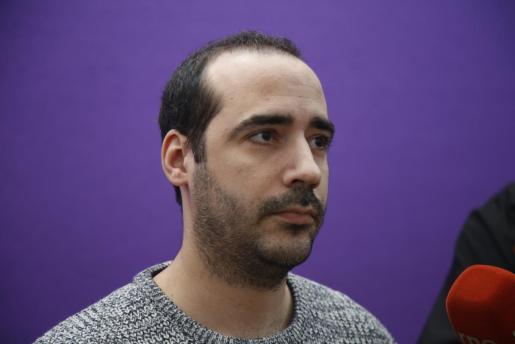 Alejandro López, secretario de Organización de Podemos en Baleares.