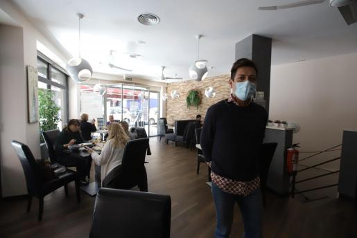 Imagen del interior de un restaurante en Palma.