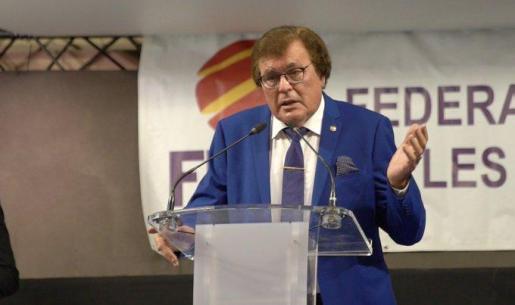 Imagen del presidente de la Federació de Futbol de les Illes Balears.