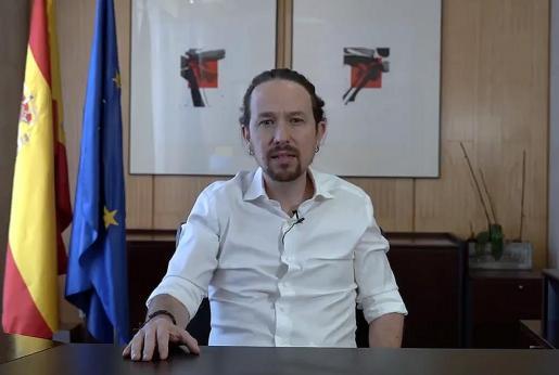 El vicepresidente segundo del Gobierno, Pablo Iglesias, obtiene su peor nota del último año en evaluación de líderes del CIS.