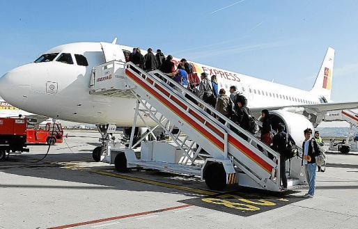 Iberia es el segundo operador de 'handling' en los aeropuertos de Balears.
