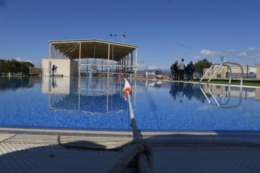 Imagen del polideportivo de Santa Eugenia, escenario de la presentación del plan de ayudas del Consell de Mallorca.
