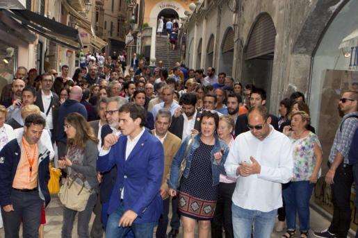 Militantes y cargos de Ciudadanos en Baleares cuando estaba liderado por Albert Rivera han dejado el partido.