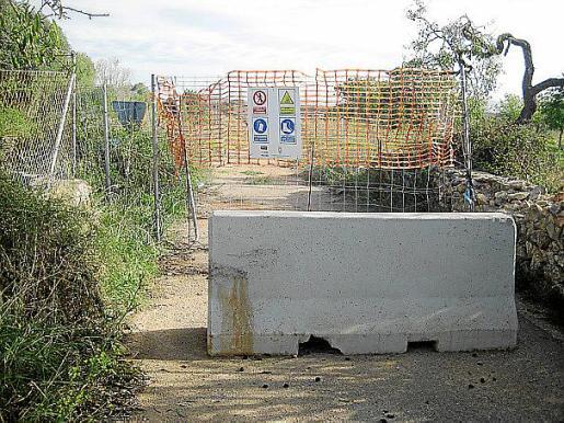 La plataforma adjunta a Bauzá fotos de la situación.