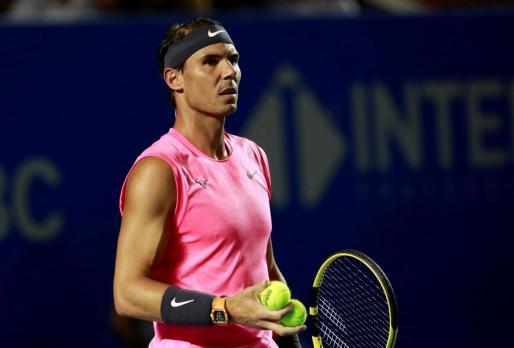 Imagen de Rafael Nadal durante un partido.