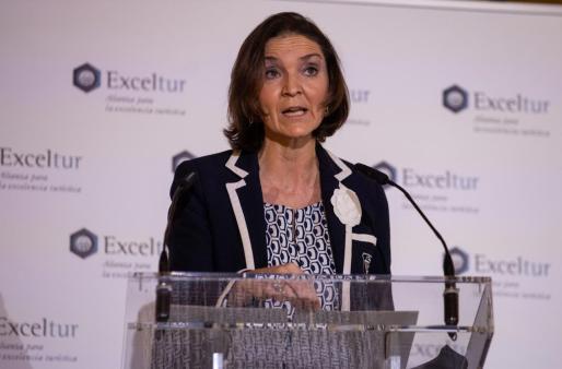 La ministra de Industria, Energa y Turismo, Reyes Maroto.
